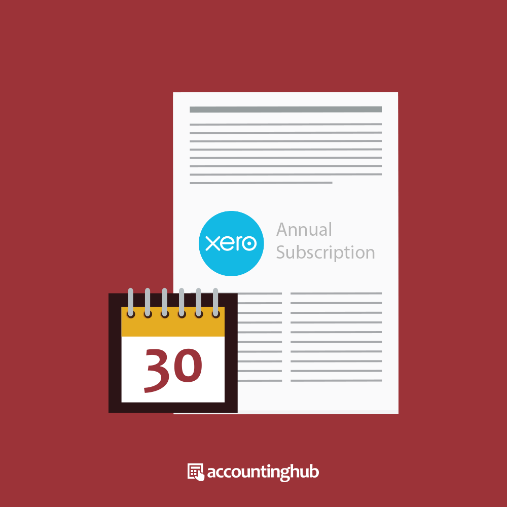 Xero Annual Subscription